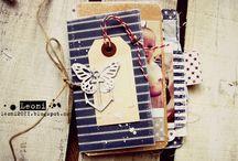 Mини-альбомы. Идеи скрапбукинг / Mini book scrapbooking