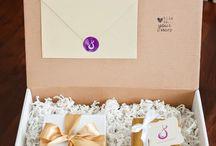 коробочка подарков