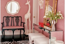 Hollywood Regency / My personal favorite interior design style!