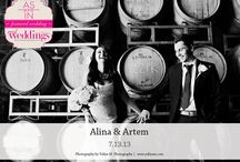 Featured Real Wedding: Alina & Artem {from the Summer/Fall 2014 Issue of Real Weddings Magazine} / Alina & Artem-Featured Real Wedding from the Summer/Fall 2014 issue of Real Weddings Magazine, www.realweddingsmag.com. Photos by and copyright Yuliya M. Photography, www.YuliyaM.com; Bridal Attire: House of Fashion, www.HofBridal.com; Rentals: America's Party Rental, www.AmericasPartyRental.com. See more here: http://www.realweddingsmag.com/featured-real-wedding-alina-artem-from-the-summerfall-2014-issue-of-real-weddings-magazine/