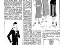Vaatteiden ompelu: Valmis kaavat