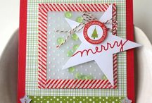 Cards - Christmas - Stars