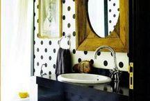 bathrooms and landryrooms