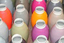 Colorfull ceramics