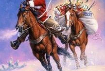 Cowboy Santa Claus