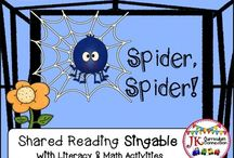 Halloween Songs, Singables, Games, and Printables! / Kindergarten and 1st grade Halloween materials for Classroom and Home School