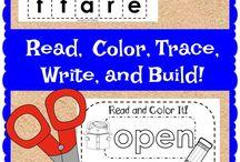Elementary Sight Word Activities