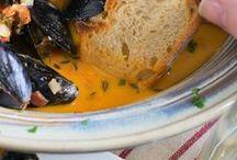 Seafood recipe ideas / Идеи рецептов с морепродуктами