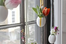 spring window decorations