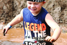 Spartan Kids Race / The Spartan Kids Race is where we encourage kids to jump, run, get muddy, help each other, and have a good time while conquering obstacles. You are never too young to set goals and celebrate accomplishing them – an epic feeling that's universal.