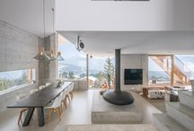 Chalets / Mountain interior design