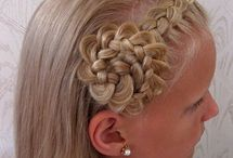 Young Girl Hair Styles / by Janet Trautman