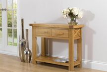 Console Tables / Oak Furniture, Free Delivery!