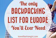 backpacking europe