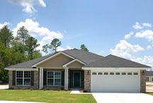 Brandon II Home plan / This one story home is a gem! A spacious retreat for your family, this home features 4 bedrooms  & 2 baths! The kitchen is loaded with beautiful features including a wonderful island with breakfast bar and stainless appliances! We're ready to move in!