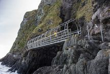 The Gobbins Cliff Path / The Gobbins, a unique coastal cliff path, and one of Northern Ireland's best kept secrets, reopens 19th August 2015.