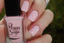 Manucure Peggy sage