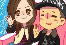Monday Couple Cartoon