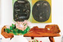 Nantucket Lane Mid Century P&P Design to Go / Mid Century 1950's Ranch Living Room Design