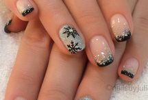 Νύχια χριστουγγενιατικα