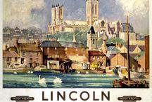 Travel Posters - British Railway Companies (East Anglia & Lincolnshire) / by Joe Reaves