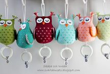 crochet owl pattern / owls
