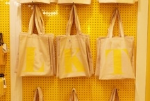 Alphabet Bags in Shops