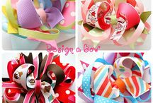 Hair accessories tutorials / by Bobbi Meister
