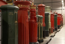 The humble Letter Box / A variety of Post Boxes, scattered across the UK / by Post Office