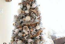 Winter woodland Christmas