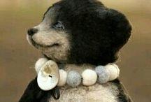 Black & white bears