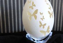 jajca / jajka różnie zdobione