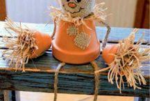 autumn decorations / podzimní dekorace