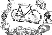 Bicycle Printable Transfers
