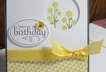 Happy, Happy Birthday Cards / Stampin' Up! inspired birthday cards