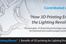 The 3D Printing Eleven / 3D Printing Eleven for the Lighting Industry by Lighting-Inspiration.com