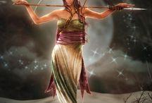 Mitos, Lendas, Sabedoria e Guerreiras