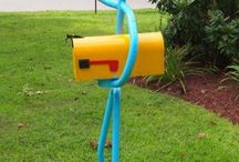 Mailboxes / by Terry Nowiski