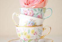 Tea Cups / Beautiful tea sets and tea pots.