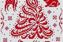 świąteczne hafty