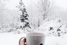 Winter, coffee ♡