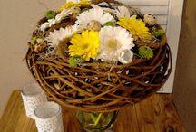 Pasen bij het Bloemmoment / Paas bloemwerken