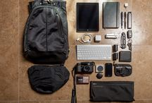 Men's accessories / Things a man should carry and have with him.