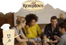 Inspiration Apérofournaux RichesMonts - Very Good Moment / A tous les fondus de fromage, l'#Apérofournaux est fait pour vous. Enfilez vos tabliers, c'est l'heure de passer en cuisine avec vos amis !