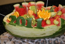 fruit display ideas / by Kandra Burleson