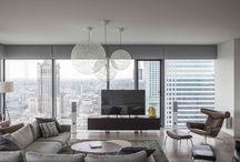 Apartments / Warsaw apartment. Minimalist interior design. www.zofiawyganowska.com