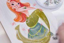 Art Illustrations Mermaids