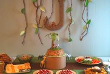 Harrison's birthday / Jungle party theme