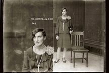 Vintage Booking Photographs: Mugshots / by Lisa Ilan
