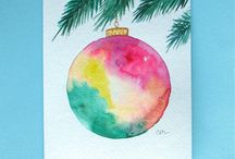 Holiday art projects